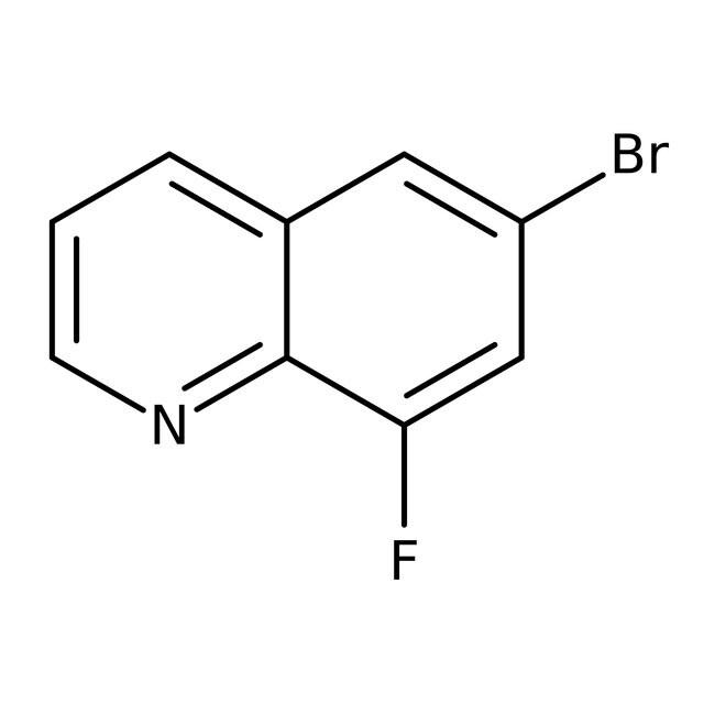 6-Bromo-8-fluoroquinoline, 97%, ACROS Organics™