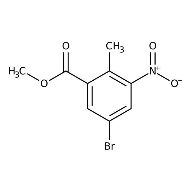 Methyl 5-Bromo-2-methyl-3-nitrobenzoate 98.0+%, TCI America™