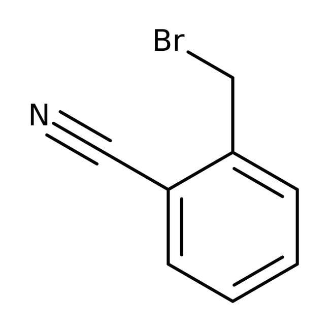 α-Bromo-o-tolunitrile, 98%, ACROS Organics™ 5g; Glass bottle α-Bromo-o-tolunitrile, 98%, ACROS Organics™