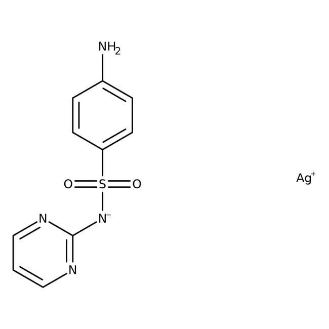 Silver sulfadiazine, 98%, ACROS Organics™ 25g Silver sulfadiazine, 98%, ACROS Organics™