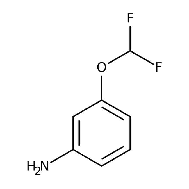 Alfa Aesar™ 3-(Difluoromethoxy)aniline, 97%