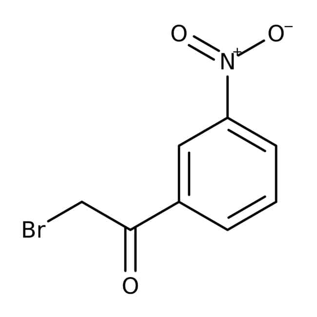 2-Bromo-3'-nitroacetophenone, 97%, ACROS Organics™
