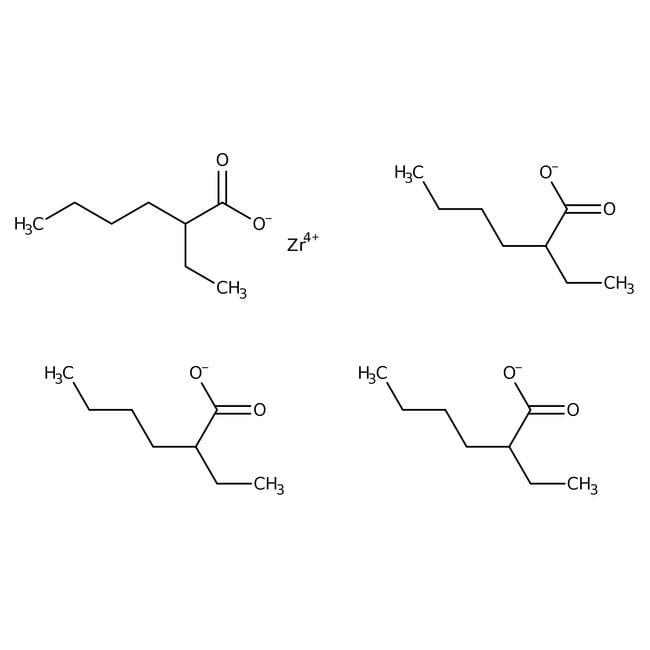Alfa Aesar™Zirconium(IV) 2-ethylhexanoate, 97% 100g Alfa Aesar™Zirconium(IV) 2-ethylhexanoate, 97%