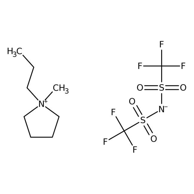 1-Methyl-1-propylpyrrolidinium Bis(trifluoromethanesulfonyl)imide 98.0+%, TCI America™