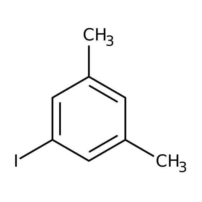 5-Iodo-m-xylene, 99%, ACROS Organics™ 25mL; Glass bottle 5-Iodo-m-xylene, 99%, ACROS Organics™