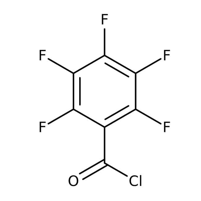 Pentafluorobenzoyl chloride, 98%, ACROS Organics™: Halobenzoic acids and derivatives Benzoic acids and derivatives