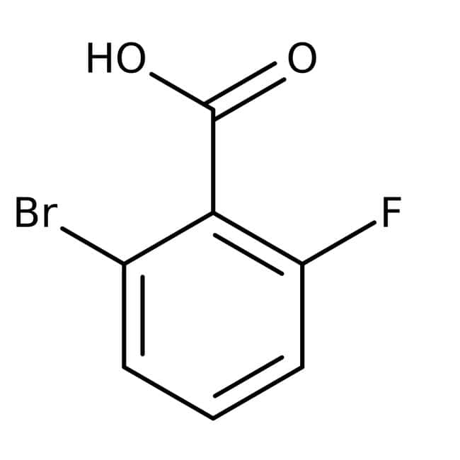 Alfa Aesar™2-Bromo-6-fluorobenzoic acid, 97%