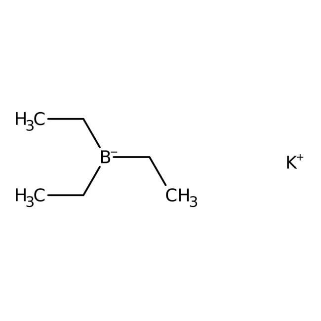 Potassium triethylborohydride, 1M solution in THF, AcroSeal , ACROS Organics