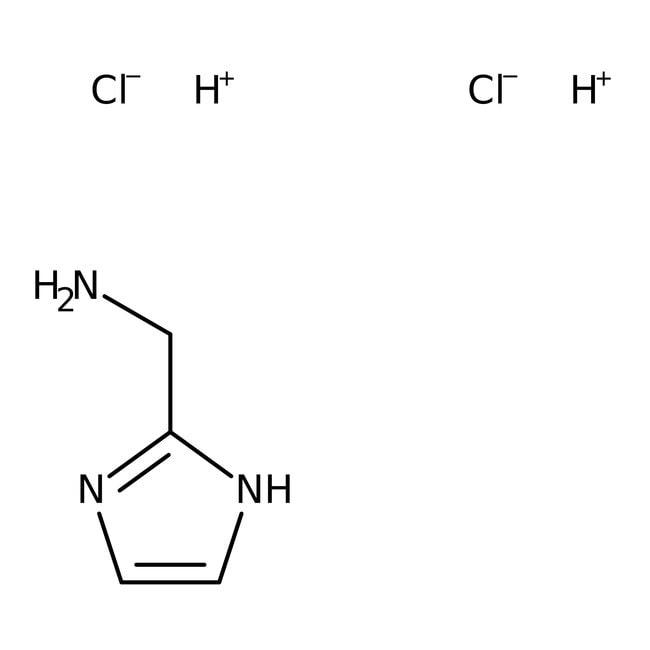 2-Aminomethyl-1H-Imidazol-Dihydrochlorid, 98%, Acros Organics™ 5g 2-Aminomethyl-1H-Imidazol-Dihydrochlorid, 98%, Acros Organics™