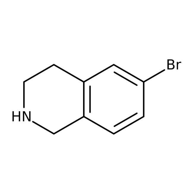 Alfa Aesar™6-Bromo-1,2,3,4-tetrahydroisoquinoline, 95% 1g Alfa Aesar™6-Bromo-1,2,3,4-tetrahydroisoquinoline, 95%