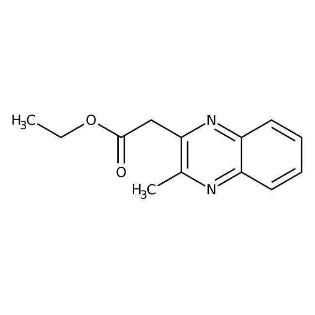 Alfa Aesar™Ethyl (3-methyl-2-quinoxalinyl)acetate, 98% 250mg Alfa Aesar™Ethyl (3-methyl-2-quinoxalinyl)acetate, 98%