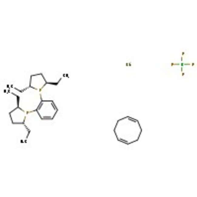 1,2-Bis((2R,5R)-2,5-diethylphospholano)benzene(cyclooctadiene)rhodium(I) tetrafluoroborate, 97%, ACROS Organics™