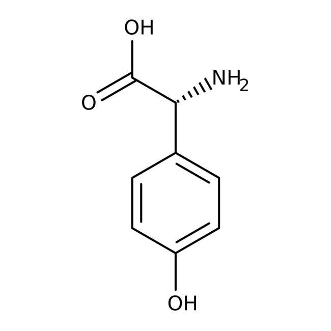 D(-)-4-Hydroxyphenylglycine, 98+%, ACROS Organics™ 25g; Plastic bottle D(-)-4-Hydroxyphenylglycine, 98+%, ACROS Organics™