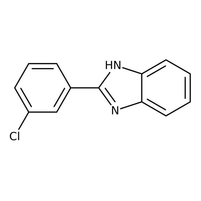 Alfa Aesar™2-(3-Chlorophenyl)benzimidazole, 95% 250mg Alfa Aesar™2-(3-Chlorophenyl)benzimidazole, 95%