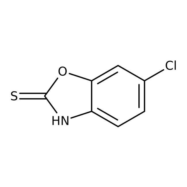 6-Chloro-2-benzoxazolethiol, 99%, ACROS Organics™