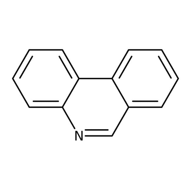 Phenanthridine, 98%, ACROS Organics™ 1g; Glass bottle Phenanthridine, 98%, ACROS Organics™