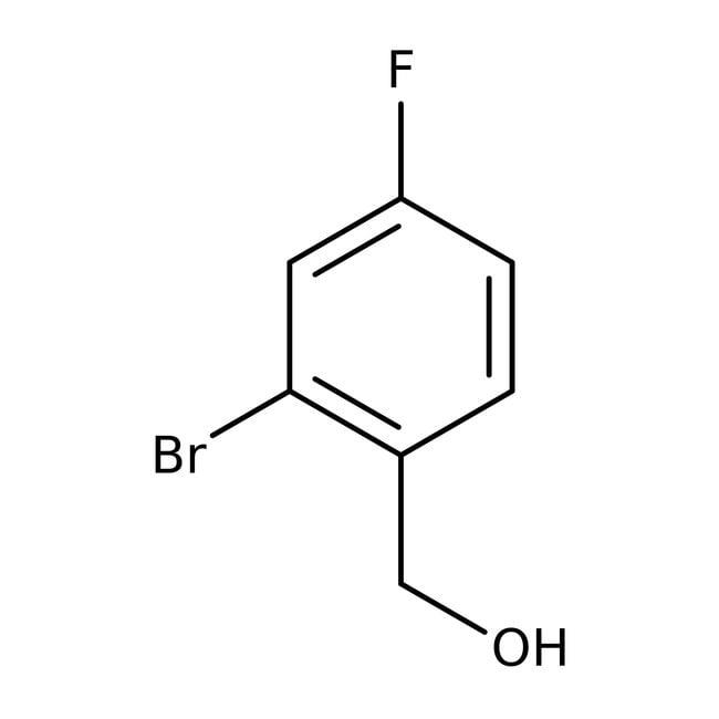 Alfa Aesar  2-Bromo-4-fluorobenzyl alcohol, 98%