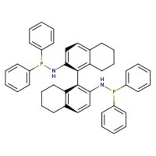Alfa Aesar™(S)-(-)-2,2'-Bis(N-diphenylphosphinoamino)-5,5',6,6',7,7',8,8'-octahydro-1,1'-binaphthyl, CTH-(S)-BINAM, 95%