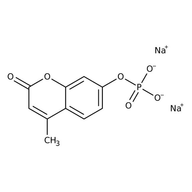 4-Methylumbelliferylphosphate disodium salt trihydrate, 99%, ACROS Organics