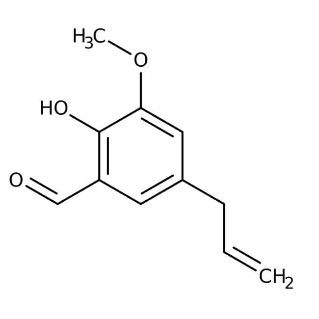 5-Allyl-2-hydroxy-3-methoxybenzaldehyde, 98%, Acros Organics