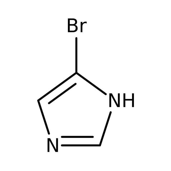 Alfa Aesar™4-Bromoimidazole, 98% 5g Alfa Aesar™4-Bromoimidazole, 98%