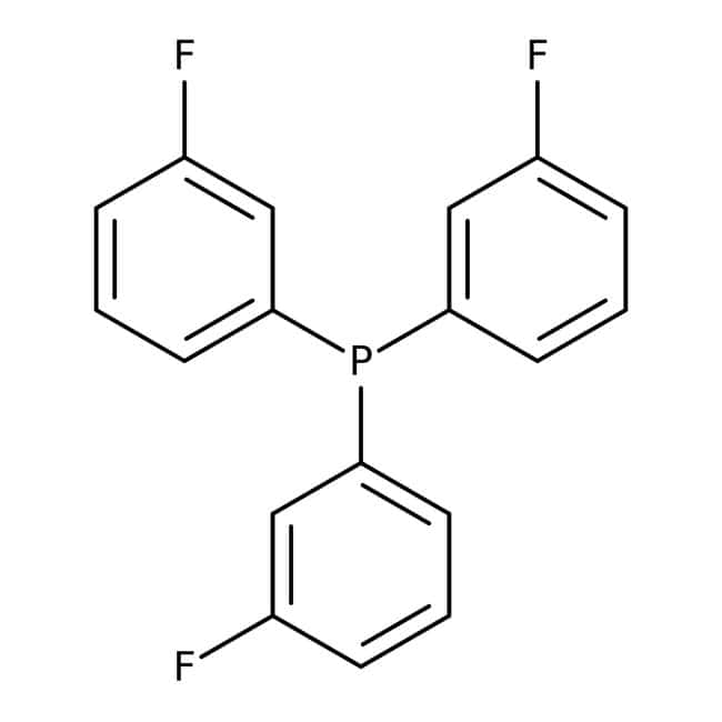 Alfa Aesar™ Tris(3-fluorophenyl)phosphine, 97%: Benzene and substituted derivatives Benzenoids