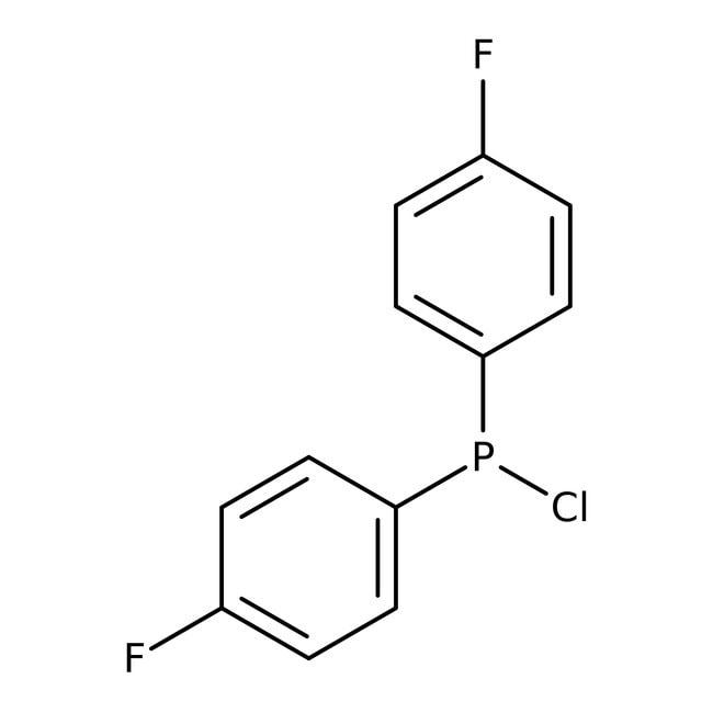 Alfa Aesar™Chlorobis(4-fluorophenyl)phosphine, 98% 250mg Alfa Aesar™Chlorobis(4-fluorophenyl)phosphine, 98%