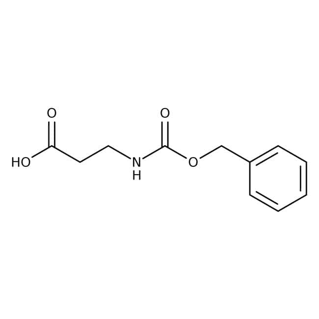 N-Carbobenzyloxy-beta-alanine, 98%, Acros Organics