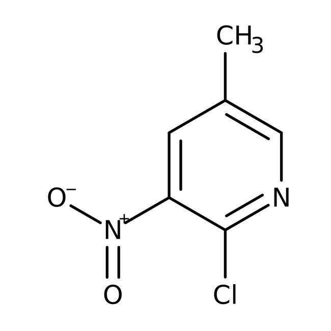 2-Chloro-3-nitro-5-picoline, 98%, ACROS Organics