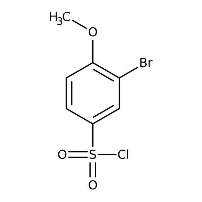 Alfa Aesar™3-Bromo-4-methoxybenzenesulfonyl chloride, 97%