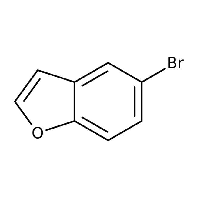 5-Bromo-1-benzofuran, 97%, Maybridge™ Amber Glass Bottle; 5g 5-Bromo-1-benzofuran, 97%, Maybridge™