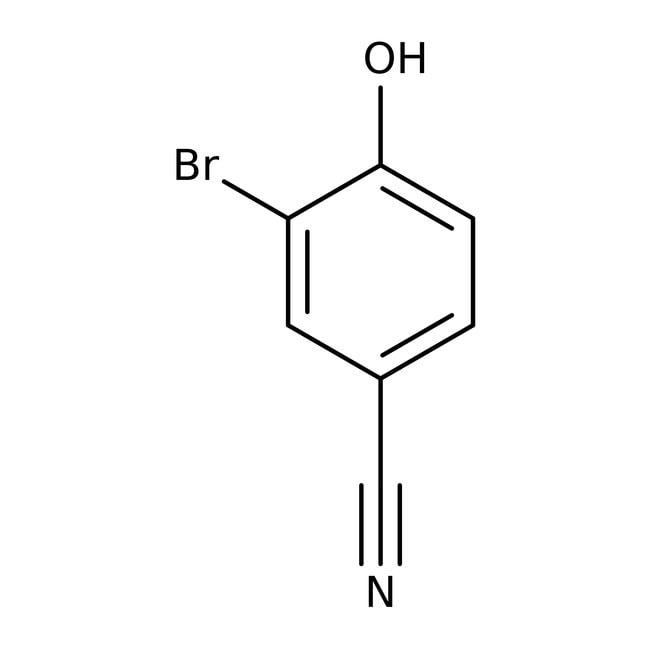 Alfa Aesar™3-Bromo-4-hydroxybenzonitrile, 98% 100g Alfa Aesar™3-Bromo-4-hydroxybenzonitrile, 98%