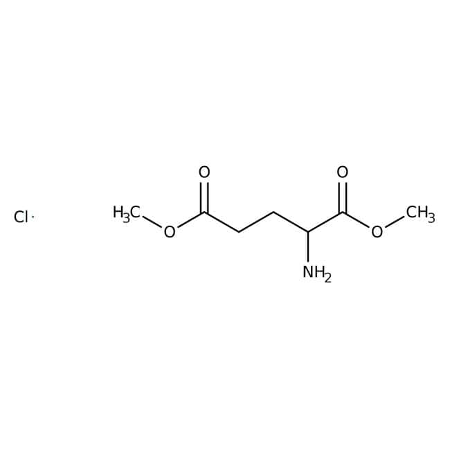 L-Glutamic acid dimethyl ester hydrochloride, 99%, pure, ACROS Organics™