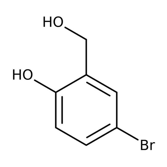 5-Bromo-2-hydroxybenzyl alcohol, 98%, ACROS Organics