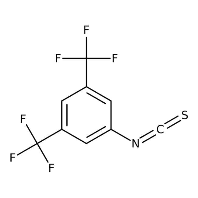 Alfa Aesar™3,5-Bis(trifluoromethyl)phenyl isothiocyanate, 98% 1g Alfa Aesar™3,5-Bis(trifluoromethyl)phenyl isothiocyanate, 98%