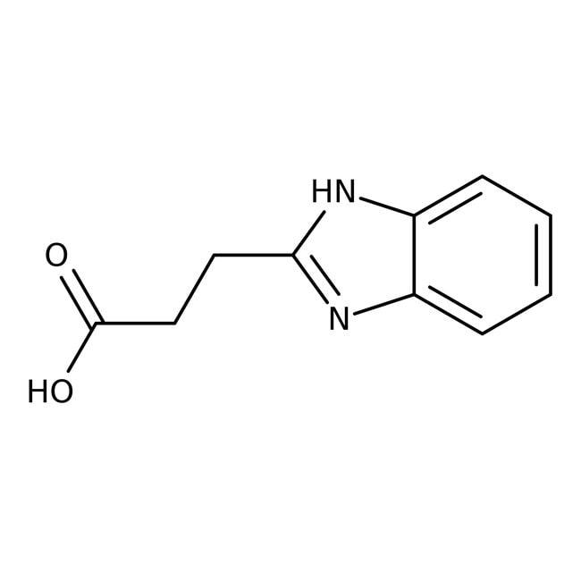 2-Benzimidazolepropionic acid, 97%, ACROS Organics™