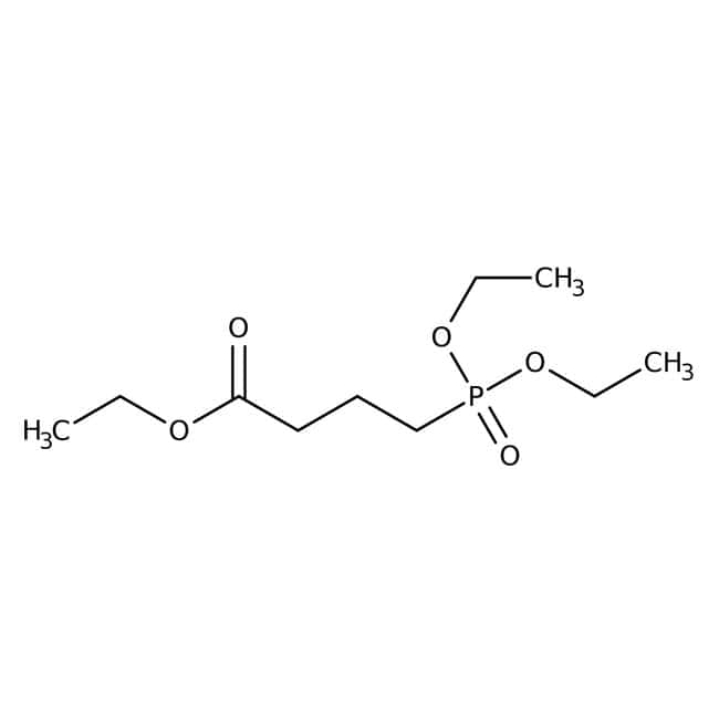 Triethyl4 -Phosphonobutyrat, 97 %: Organic phosphonic acids and derivatives Organic acids and derivatives