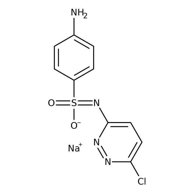 Sulfachloropyridazine sodium, 97%, ACROS Organics™ 1g Sulfachloropyridazine sodium, 97%, ACROS Organics™