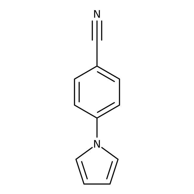 4-(1H-Pyrrol-1-yl)benzonitrile, 97%, Maybridge™ 5g 4-(1H-Pyrrol-1-yl)benzonitrile, 97%, Maybridge™