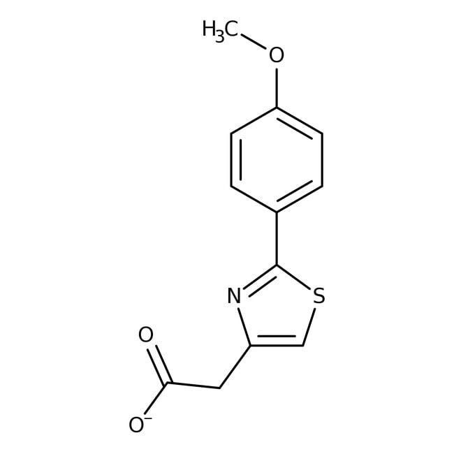 Alfa Aesar™2-(4-Methoxyphenyl)thiazole-4-acetic acid, 97%