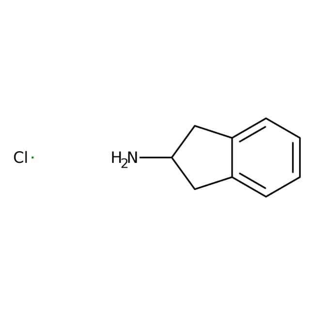Chlorhydrate de 2-aminoindan, 98%, ACROS Organics™ 25g; flacon en verre Chlorhydrate de 2-aminoindan, 98%, ACROS Organics™
