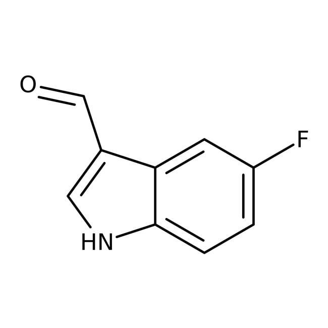 5-Fluoroindole-3-carboxaldehyde, 99%, Acros Organics 1g 5-Fluoroindole-3-carboxaldehyde, 99%, Acros Organics