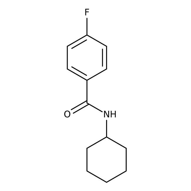 Alfa Aesar™N-Cyclohexyl-4-fluorobenzamide, 97% 1g Alfa Aesar™N-Cyclohexyl-4-fluorobenzamide, 97%