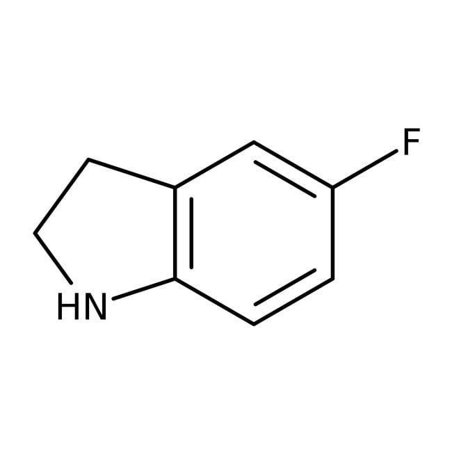 Alfa Aesar™5-Fluoroindoline, 97% 250mg Alfa Aesar™5-Fluoroindoline, 97%
