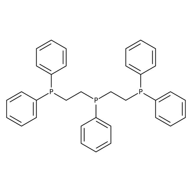 Bis(2-Diphenylphosphinoethyl)phenylphosphine, 97%, ACROS Organics™ 1 g-Glasflasche Bis(2-Diphenylphosphinoethyl)phenylphosphine, 97%, ACROS Organics™
