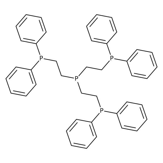 Tris[2-(diphenylphosphino)ethyl]phosphine, 97%, ACROS Organics™ 25g Tris[2-(diphenylphosphino)ethyl]phosphine, 97%, ACROS Organics™