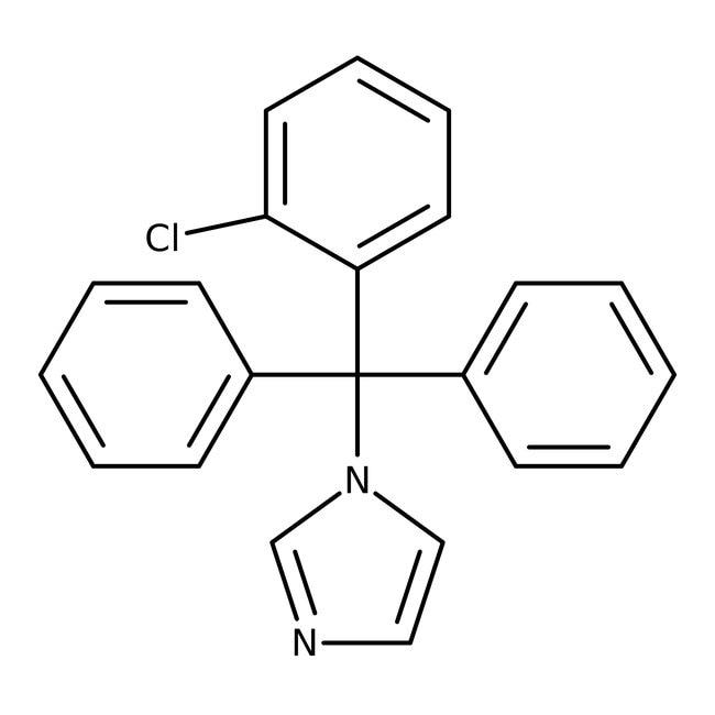 Clotrimazole, ACROS Organics™ 25g Clotrimazole, ACROS Organics™