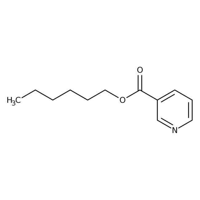 Nicotinsäurehexylester, 98%, Acros Organics™ 5g Nicotinsäurehexylester, 98%, Acros Organics™