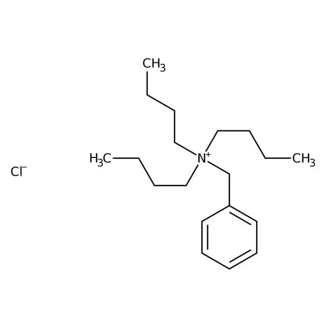 Alfa Aesar™Benzyltri-n-butylammonium chloride, 98% 2500g Alfa Aesar™Benzyltri-n-butylammonium chloride, 98%
