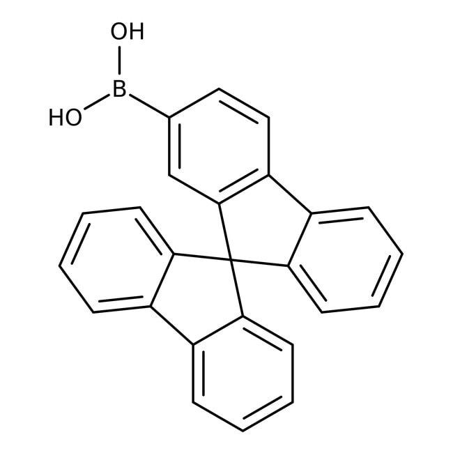 Alfa Aesar™9,9'-Spirobifluorene-2-boronic acid, 98% 1g Alfa Aesar™9,9'-Spirobifluorene-2-boronic acid, 98%